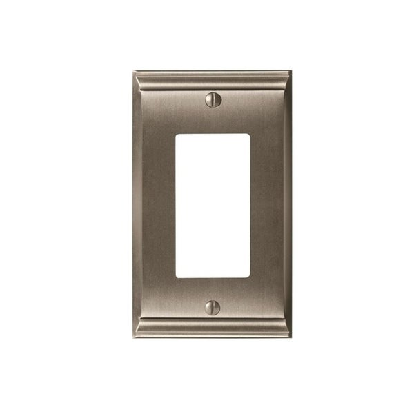 Candler 1 Rocker Satin Nickel Wall Plate