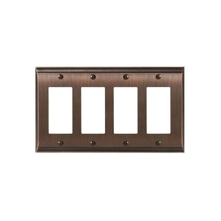 Candler 4 Rocker Oil-Rubbed Bronze Wall Plate