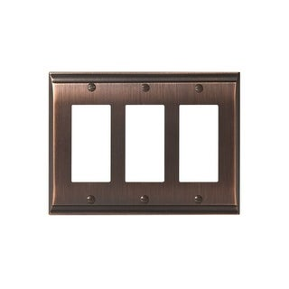 Candler 3 Rocker Oil-Rubbed Bronze Wall Plate