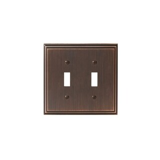 Mulholland 2 Toggle Oil-Rubbed Bronze Wall Plate