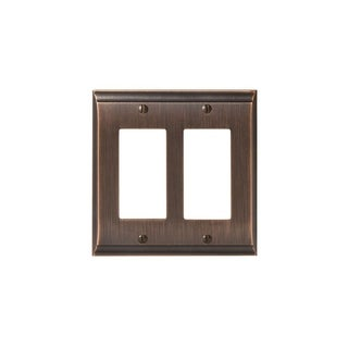 Candler 2 Rocker Oil-Rubbed Bronze Wall Plate