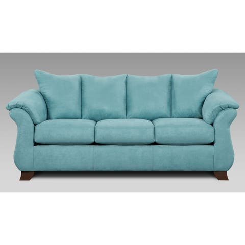 Buy Blue, Microfiber Sofas & Couches Online at Overstock | Our Best ...