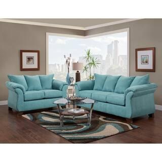 Buy Microfiber Living Room Furniture Sets Online at Overstock.com ...