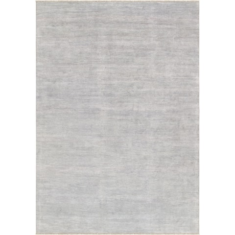 Pasargad Home Transitiona Collection Silk & Wool Rug