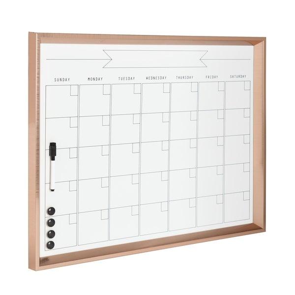 DesignOvation Calter Framed Magnetic Dry Erase Monthly Calendar