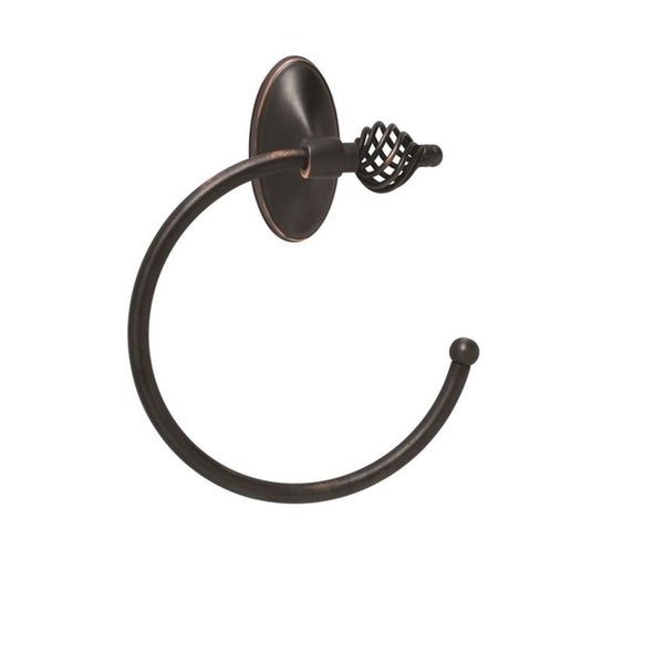 Saybrook Classic 6-13/16 in (173 mm) Length Towel Ring in Oil-Rubbed Bronze