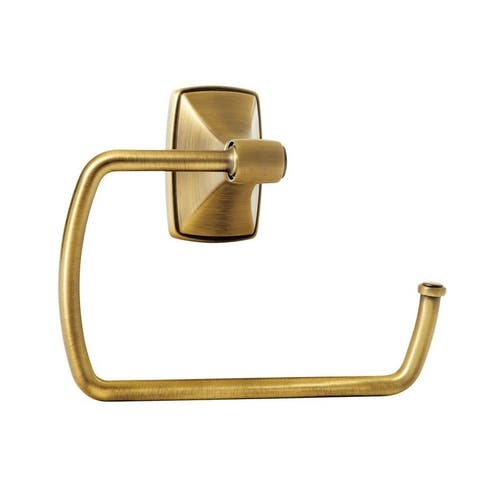 Clarendon 6-7/8 in (175 mm) Length Towel Ring in Gilded Bronze