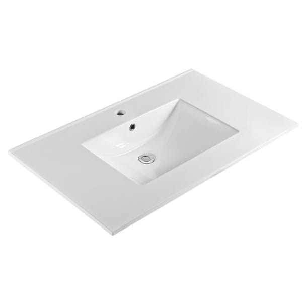 vitreous in white incredible with creek x bathroom w tops china top by vanity