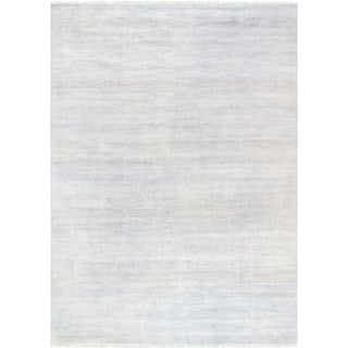"""Pasargad Transitiona Hand-Knotted Bsilk & Wool Area Rug (9'10"""" X 13'10"""")"""