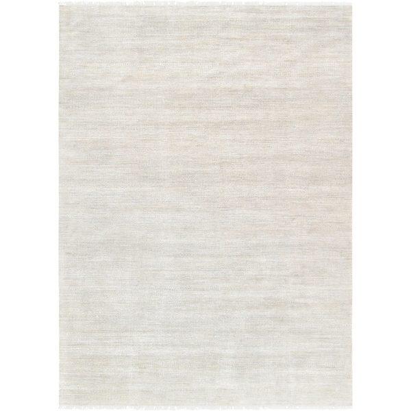 "Pasargad Transitiona Hand-Knotted Bsilk & Wool Area Rug (9'11"" X 13' 9"")"