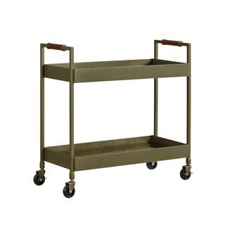 Avenue Greene Anderson Brass Bar Cart