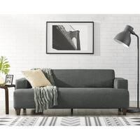 Lazzaro Leather Julliette Battleship Grey Sofa Free