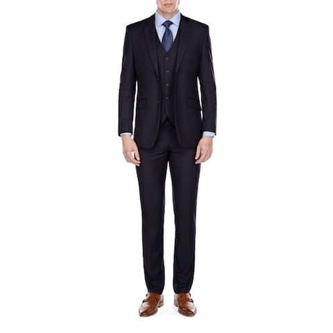 Fino Uomo Men's Slim Fit 3 Piece Suits