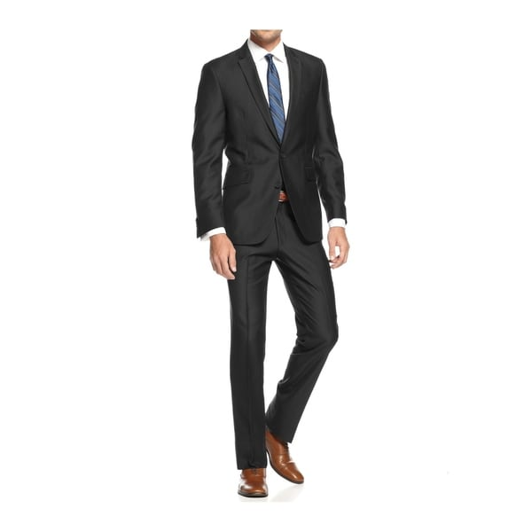 Braveman Men's Slim Fit 2-Piece Suit