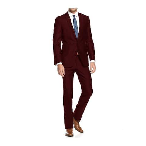 Braveman Men's Slim Fit 2 Piece Suit
