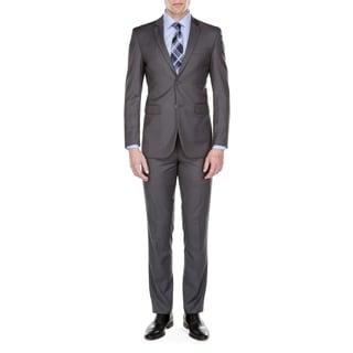 Fino Uomo Men's Classic Fit 2 Piece Suit