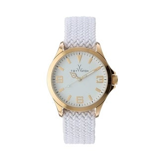 ToyWatch ToyCruise Metal White and Pink Gold CRS01WH