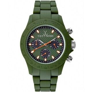 ToyWatch Velvety Chrono Green VVC06GR