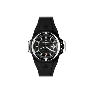 ToyWatch ToyStrong Black and Silver NS01BK