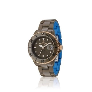ToyWatch Toy MrHyde Pewter and Blue HY01DG