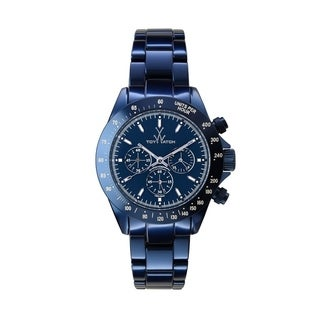 ToyWatch Metallic Chrono Blue ME13BL