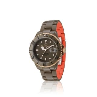 ToyWatch Toy MrHyde Pewter and Orange HY02DG https://ak1.ostkcdn.com/images/products/17432467/P23666594.jpg?impolicy=medium