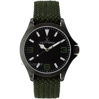 ToyWatch ToyCruise Metal Hunter Green and IP Black CRS04HG