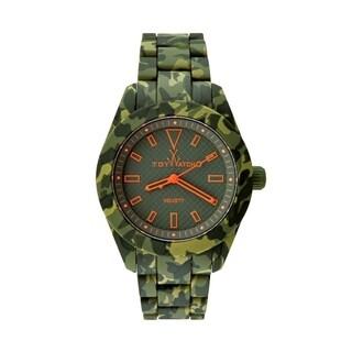 ToyWatch Velvety Camouflage Green VVA01HG