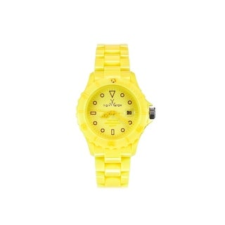 ToyWatch Monochrome Yellow MO14YL