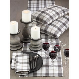 Yuri Collection Classic Plaid Design Cotton Table Runner