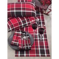 Jarret Collection Classic Plaid Design Cotton Table Runner
