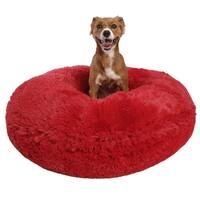 Bessie & Barnie Signature Extra Plush Faux Fur Bagel Pet/ Dog Bed