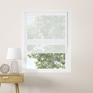 Chicology Cloud White Continuous Loop Beaded Chain Solar Roller Shades