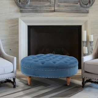 Jennifer Taylor Josephine Round Tufted Bench