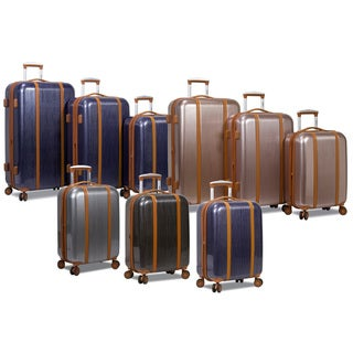 Link to Deluxe 3-Piece Hardside Spinner Luggage Set with TSA Lock Similar Items in Luggage Sets