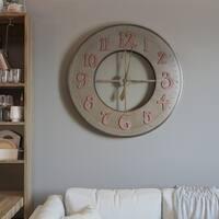 Metal Circular Wall Clock
