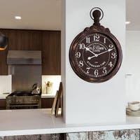 Circular Timepiece Wall Clock