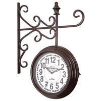 Elegant Side View Wall Clock