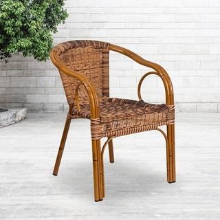 Rattan Chair/Aluminum Frame