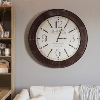 Weathered Circular Wall Clock
