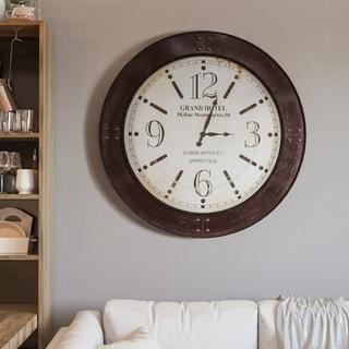 Weathered Circular Wall Clock