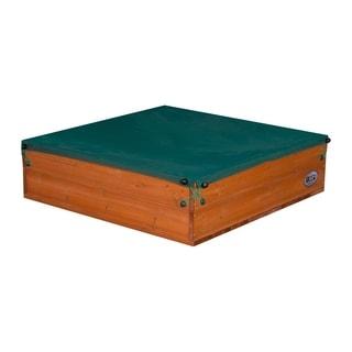 Backyard Discovery Sunny Cedar Wooden Sand Box