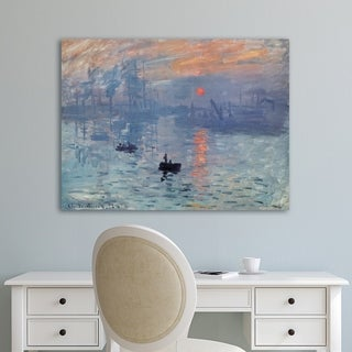 Portfolio Canvas Decor Impression Sunrise Canvas Wall Art