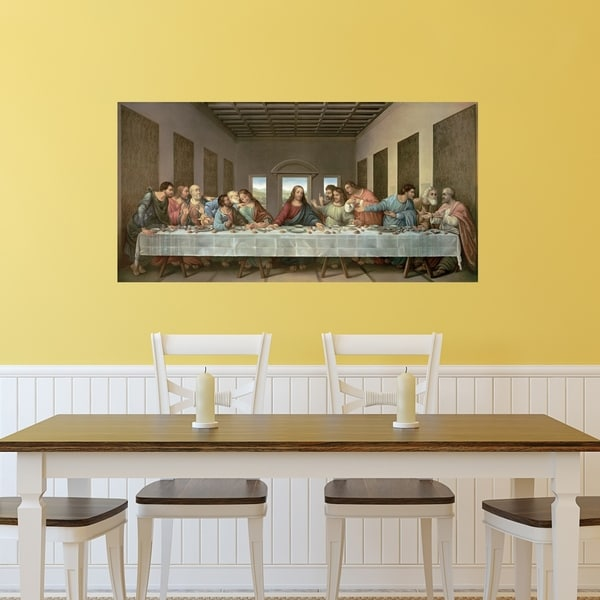 Portfolio Canvas Decor The Last Supper Canvas Wall Art - Free ...