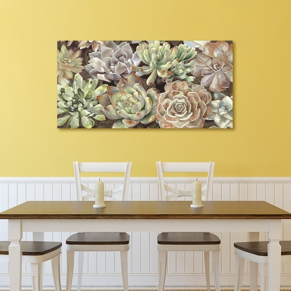Portfolio Canvas Decor Desert Garden Horizontal Panel Canvas Wall ...