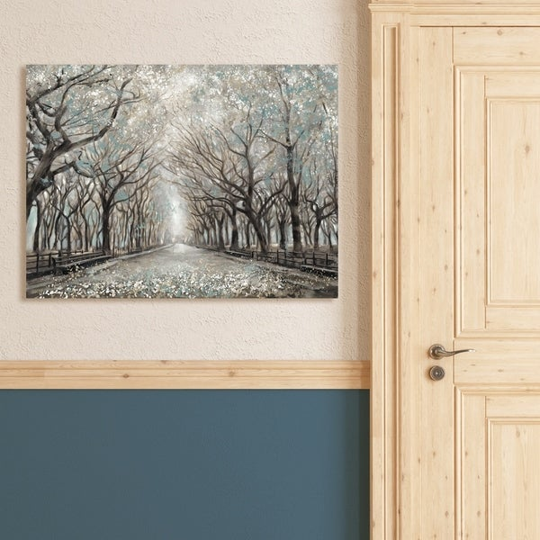 Portfolio Canvas Decor Momentary Quiet Platinum Canvas Wall Art