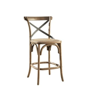 Parisian Counter Stool with Steel Accent