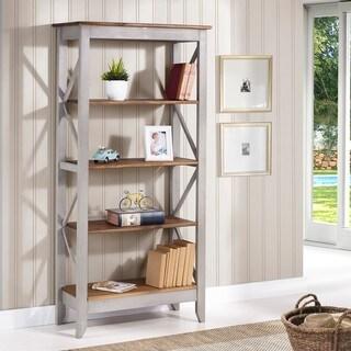 Manhattan Comfort Jay Solid Wood 31.5-inch 4-shelf Bookcase