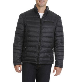 Boston Harbour Men's Reversible Puffer Down Jacket