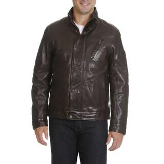 Boston Harbour Vintage Men's Leather Jacket (4 options available)